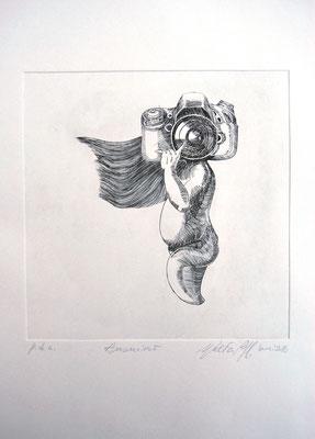 ANONIMO - cm. 20x20-Bulino su rame-2016