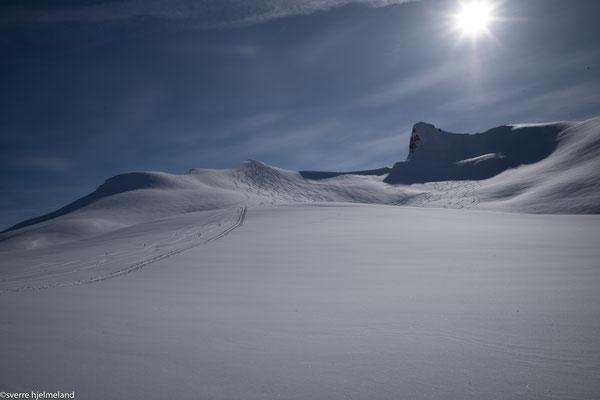 Gipfel des Kopphornet in Sicht.