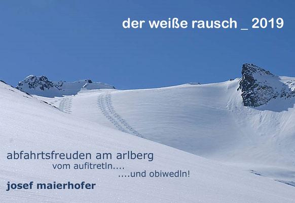 Seppi Maierhofer stellte den Alrberg als die pefekte Destination für Schi-Plus-Touren vor.