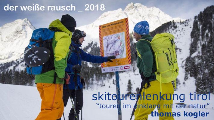 Thomas Koglers Vortrag beschäftigte sich mit dem naturverträglichen Freizeitverhalten in der Bergwelt Tirols.