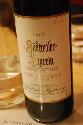 Südtiroler Wein ist absolut empfehlenswert!