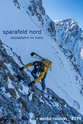 Paul Sodamin zeigte einen Kurzfilm über eine spektakuläre Steilabfahrt im Gesäuse - Sparafeld Nord.