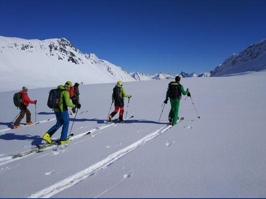 zweiter Aufstieg des Tages und letzter in den Sunnmore Alps für heuer.