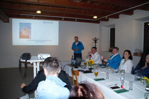 Moderiert wurde die Veranstaltung durch unseren Schriftführer Roland Kockert.