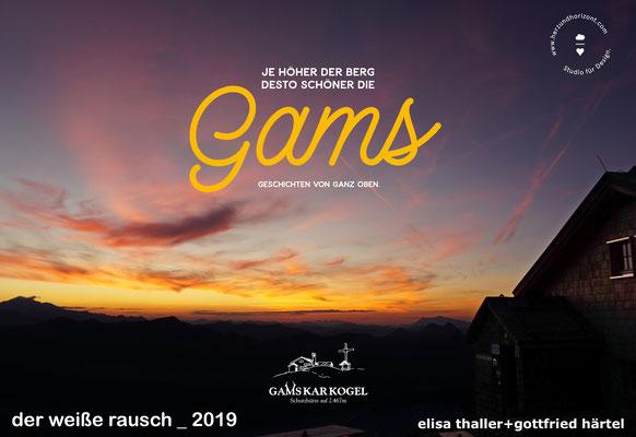 Elisa Thaller und Gottfried Härtel berichteten über ihr Hüttenwirt-Dasein auf der Gamskarkogelhütte zwischen dem Gasteiner- und dem Großarltal.
