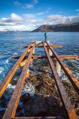 Fischen am Fjord, die Dritte.
