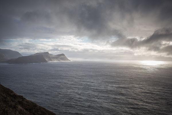 Wunderschöne Lichtstimmungen am Westend von Norwegen.