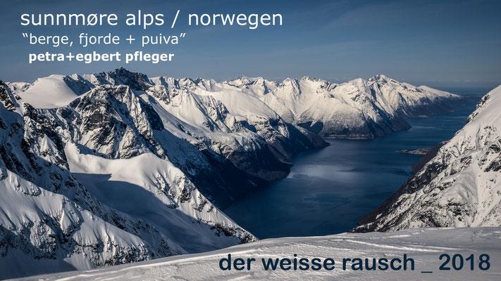 Petra und Egbert Pfleger berichteten über ihre Schitourenreise in die Sunnmore Alps / Norwegen.