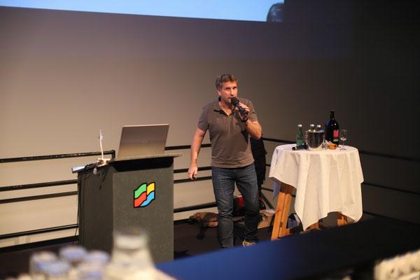 "Seppi Maierhofer berichtete über das ""Puivaland"" Arlberg."