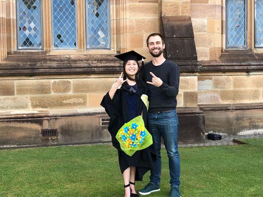Cindy's graduation April 2019