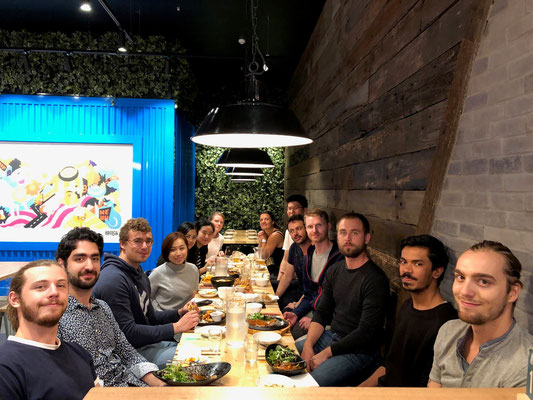 Group lunch Feb 2019