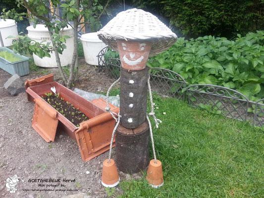 Création d'un personnage du jardin.