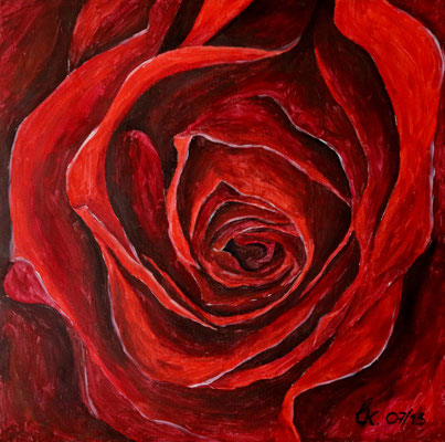 Mutters Rose - Acryl (2013)