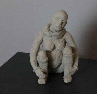 Schwanger - Ton - Höhe ca. 18 cm (2017)