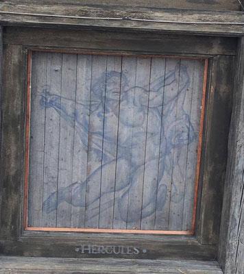 Hercules, aus dem Rathaus Stockholm