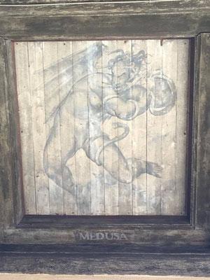 Medusa, aus dem Rathaus in Stockholm