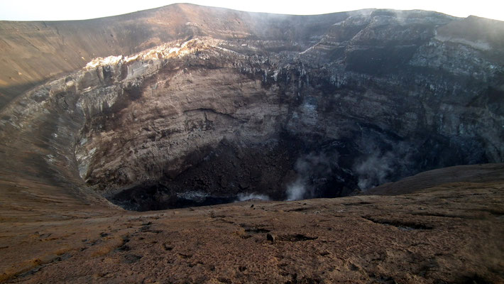 Cratere Stratovulcano Ol Doinyo Lengai, Tanzania