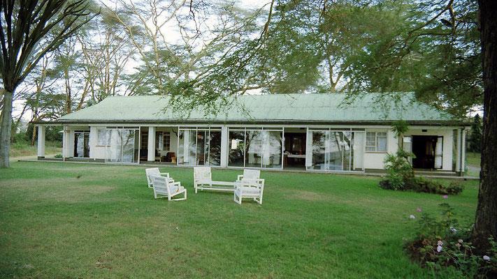Elsamere era la casa di Joy Adamson situata sulle rive del lago Naivasha