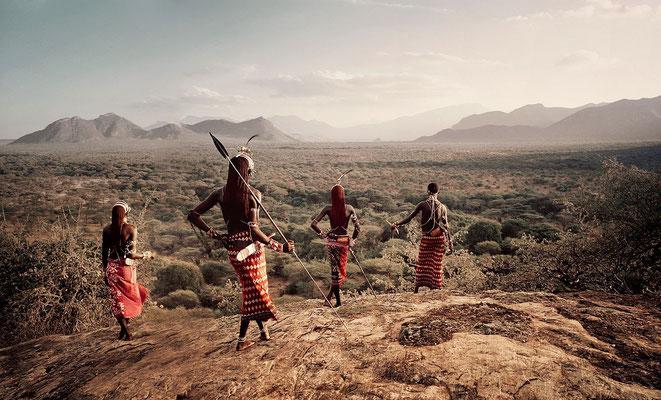 Guerrieri masai.