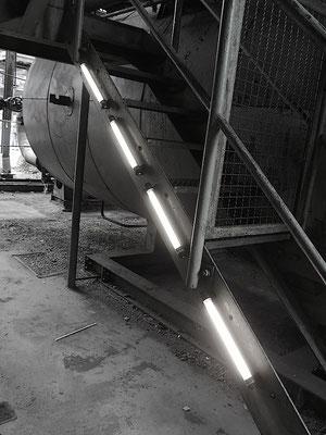 LED Beleuchtungin dunklen Räumen