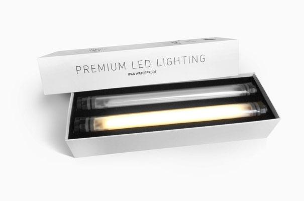 LED Lumination  Sonnenschirm Beleuchtung