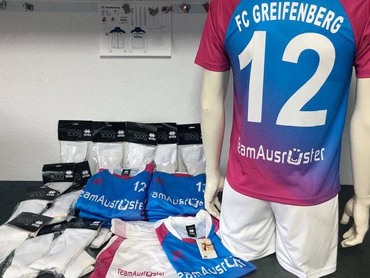 Sonderanfertigung Trikotsatz - FC Greifenberg