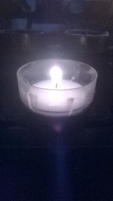 Die Kerze im Dom
