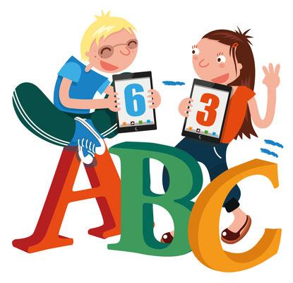 ABC with kids - Noordhoff uitgevers