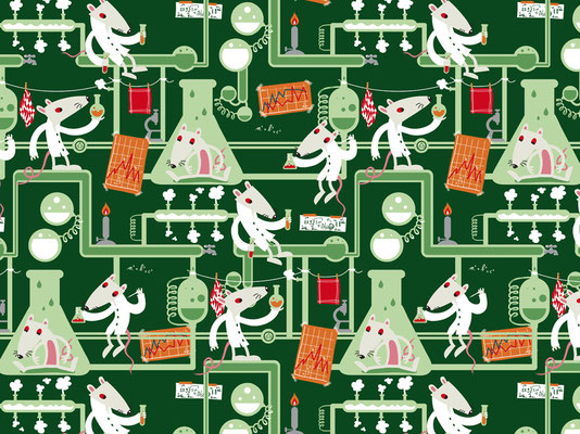 Science - available as fabric on www.spoonflower.com
