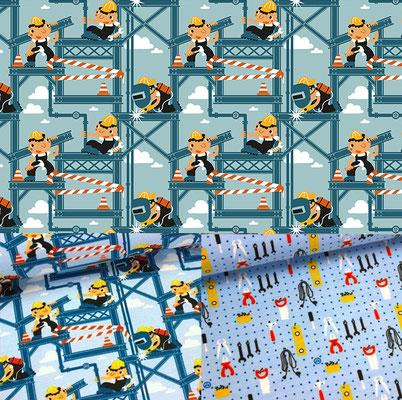 Construction men - licensed by www.alles-fuer-selbermacher.de