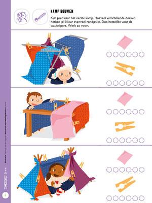 Page for Uitgeverij Averbode for Childrens magazine.