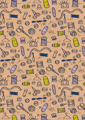 Pattern design, available as fabric on my spoonflower page https://www.spoonflower.com/profiles/verycherry