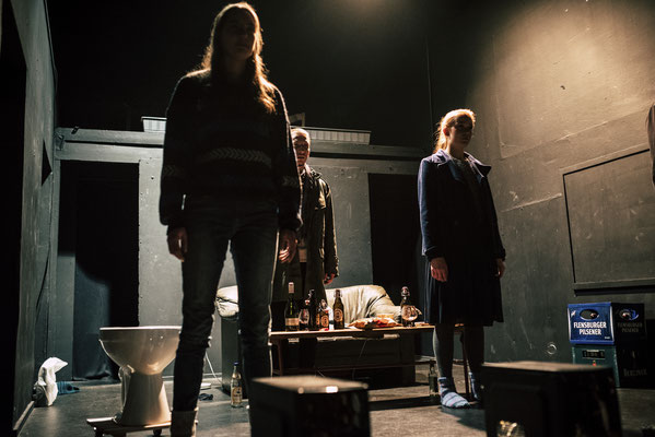 """Mia Lehrnickel, Till Falkenberg and Nina Bruns in """"Rebellen"""", Directed by Anton August Dudda, Photographed by Florian Hohensee"""