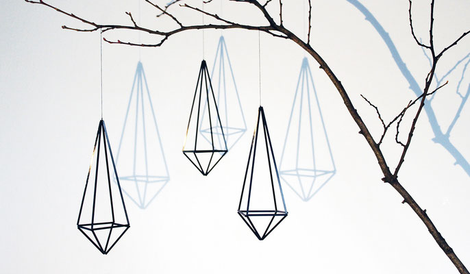 Himmeli triangle, 3er Set