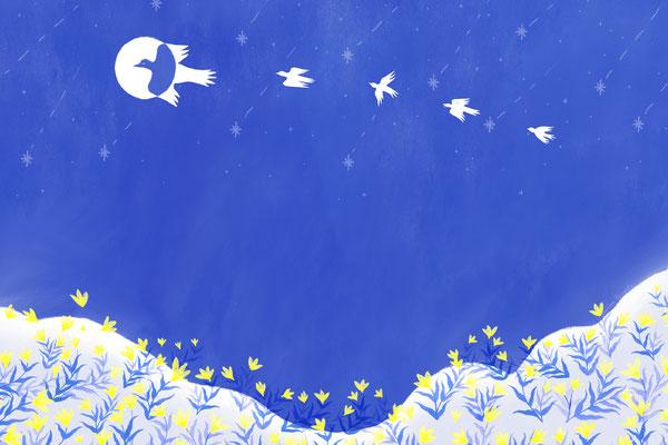 L'Oiseau Lune - Line Pauvert x IQONIQ