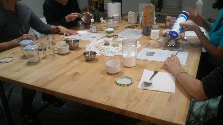 Atelier à la Biocoop