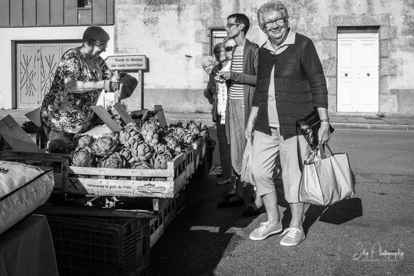 Frankreich / Bretagne, Le Conquet, Markt, Street, 2016, © Silly Photography