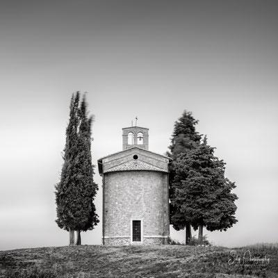Italien / Toskana / Capella Di Vitaleta, Langzeitbelichtung, 2019, ©Silly Photography