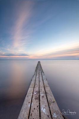 Pelzerhaken, Ostsee, Steg, Langzeitbelichtung, 2021, © Silly Photography