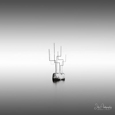 Travemünde / Skulptur / Ostsee, Langzeitbelichtung, 2019, © Silly Photography