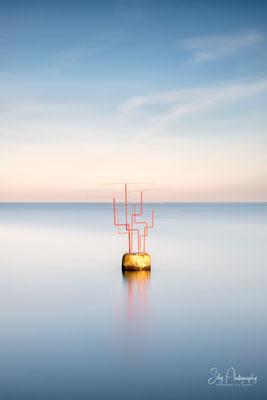 Travemünde, Skulptur, Ostsee, Langzeitbelichtung, 2019, © Silly Photography