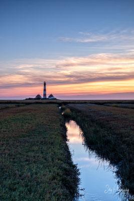 Leuchtturm Westerheversand, Nordsee, Langzeitbelichtung, 2018, © Silly Photography