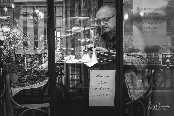 Hamburg, Alsterarkaden, Street, 2016, © Silly Photography