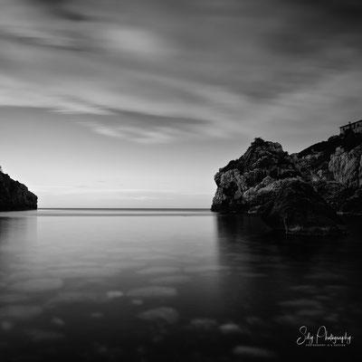 Mallorca / Cala de Deiá, Langzeitbelichtung, 2014, © Silly Photography