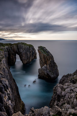 Nordspanien / Asturien /  La Lanca de Roca, Langzeitbelichtung 321 sec, 2018, © Silly Photography