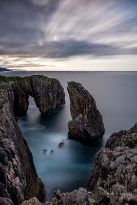 Nordspanien / Asturien /  Lanca da Roca, Langzeitbelichtung 321 sec, 2018, © Silly Photography
