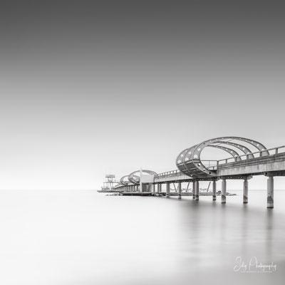 Kellenhusen / Ostsee, Seebrücke, Langzeitbelichtung, 2019, © Silly Photography