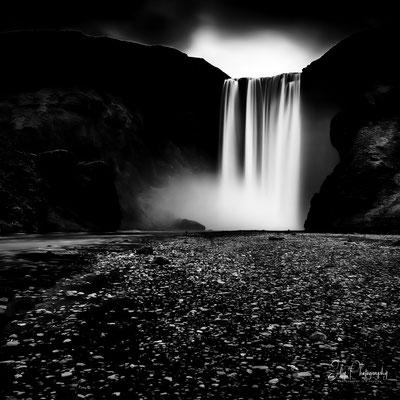Island,Skógafoss, Wasserfall, Langzeitbelichtung, 2015, © Silly Photography