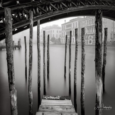 Venedig / Venezia, Ponte dell Accademia, Italien, Langzeitbelichtung, 2017, © Silly Photography