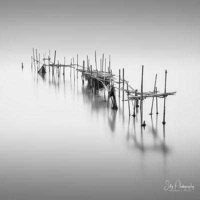 Venedig / Venezia, Fischernetze, Italien, Langzeitbelichtung, 2017, © Silly Photography